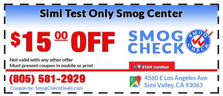 Simi Smog Check Coupons
